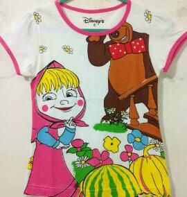 Disney's Masha and The Bear  Rp.30.000/pcs USD $4 Size anak: 1,2,3,4,5,6 thn Size kids: 1,2,3,4,5,6 years WORLDWIDE SHIPPING How To Order: SMS : 08128123061 PIN BBM : 7DAE07CA / 235E3A9E  E-mail : bluetree72@yahoo.com For outside Indonesia you can contact us via: E-mail : bluetree72@yahoo.com Twitter : @BlueTree_Store Note : -All of the products price does not include Shipping/Postage (belum termasuk ongkir) -No Refund,Return,Cancel. (except if there's damage on the products)