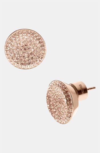 Michael Kors 'Brilliance' Stud Earrings | Nordstrom