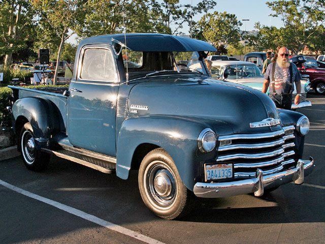 American Graffiti Petaluma Truck Show Vintage Chevy Truck