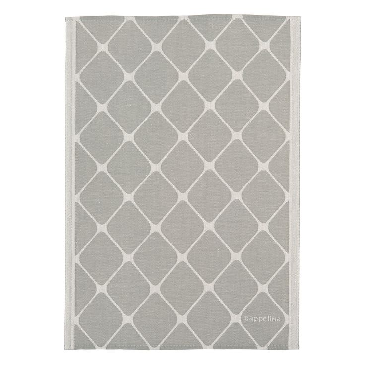 Rex Towel 46x66cm, Warm Grey, Pappelina