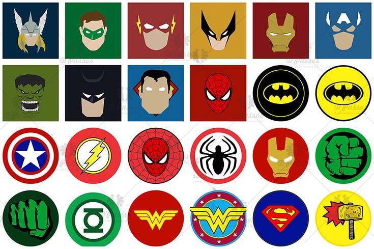 картинки смайлов все супергерои тех пор