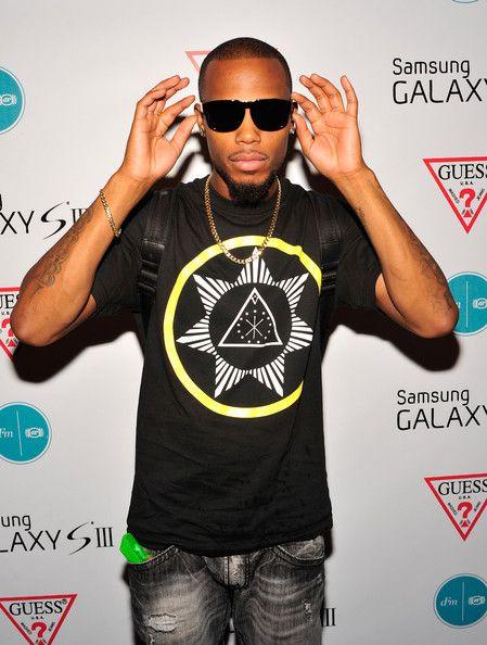 B.O.b Rapper | Bob Rapper B.o.B attends the dFM Luncheon presented by Samsung Galaxy ...