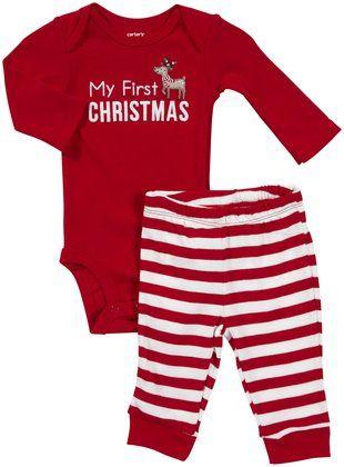 Carter's My 1st Christmas Take Me Away - Free Shipping