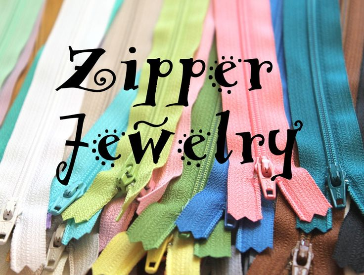 How to Make Zipper Jewelry