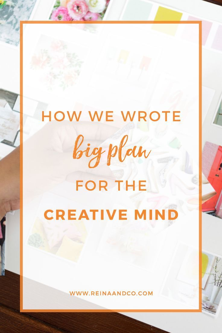 How We Wrote Big Plan for the Creative Mind  Writing, Blog
