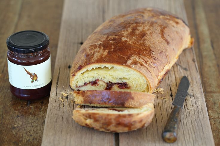 Warm Brioche Roll with Quince Conserve - Maggie Beer