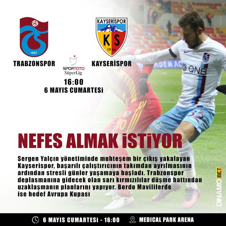 Lige tutunmaya çalışan Kayserispor'da zorlu deplasman senaryosu yazılıyor. www.dinamobet19.com #dinamobet #trabzonspor #kayserispor