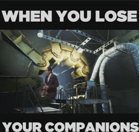 When you lose your companions in fallout 4