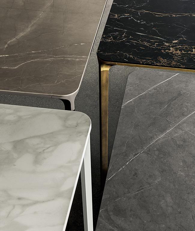 Slim Extensible Tavolo Allungabile Per Arredamento Interni Sovet Tavoli Da Pranzo In Marmo Tavolo Allungabile Tavolo Marmo