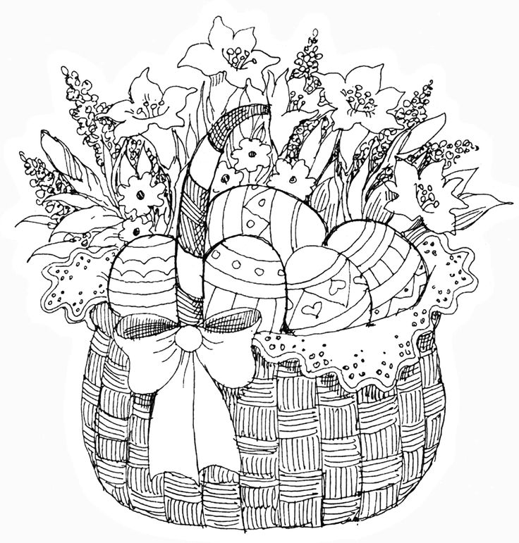 Easter Flowers Colouring Pages : 288 best flower coloring pages images on pinterest
