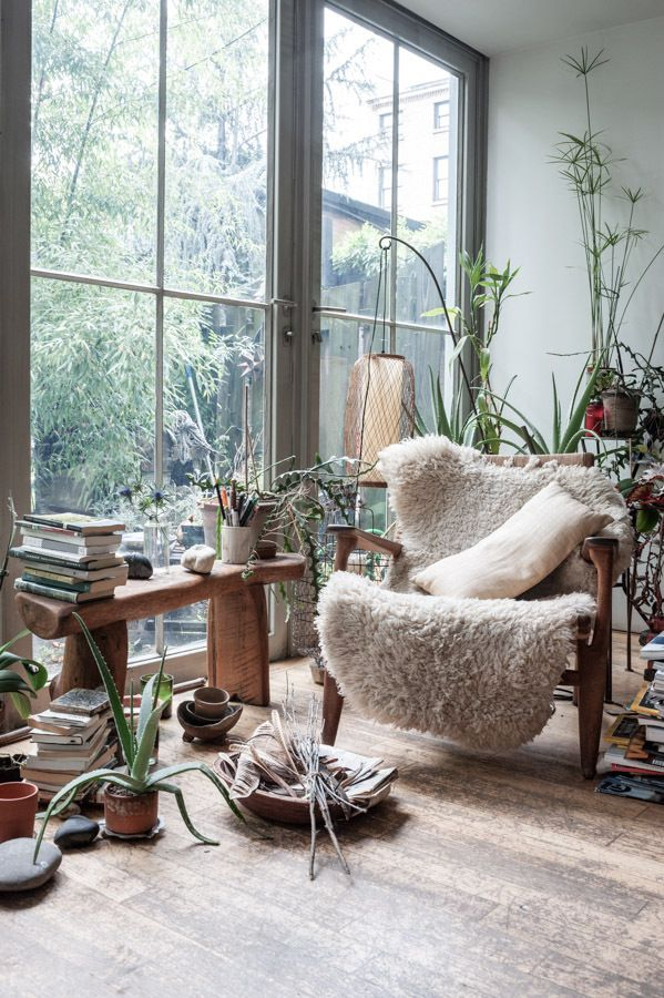 : Big Window, Living Rooms, Mark Borthwick, Chairs, Interiors, Plants, Reading Nooks, Maria Dogwood, House
