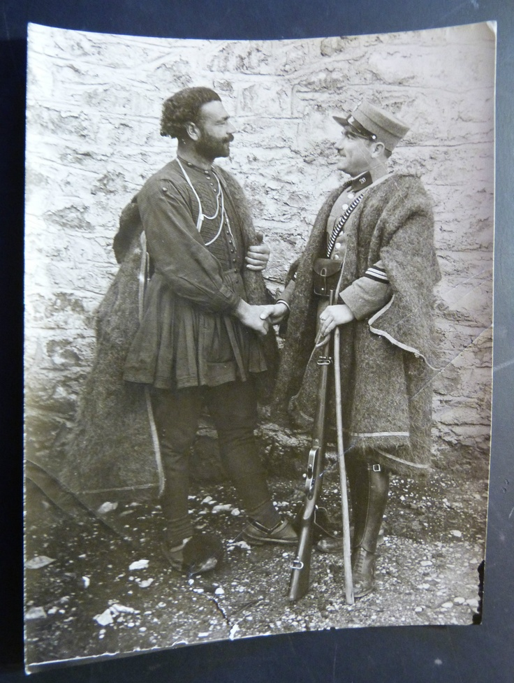 Antique RARE Greece Amfissa Photo 1930's Capture of Delinquent by Army General   eBay