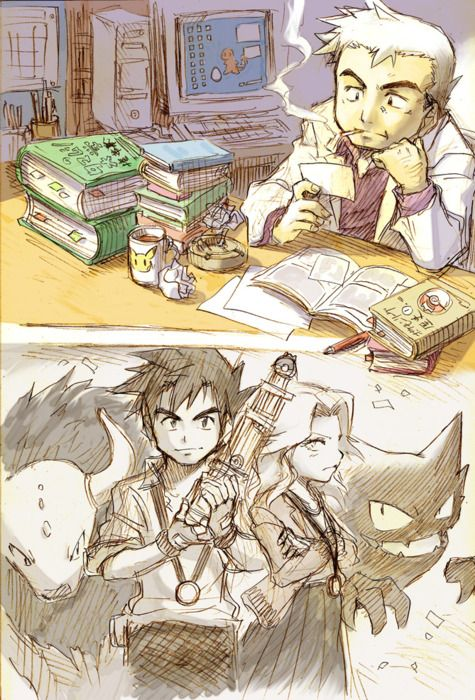Professor Oak's Nostalgia.  What if they created a throwback Pokemon game with only the first 151 where you explored as Professor Oak.  But the objective was to explore and research rather than become a Pokemon master.  Pokemon Gray:  Oak's Nostalgia.  Make it happen people! -DM