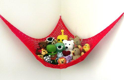 Crocheted Toy net.