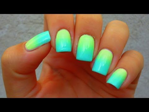 DIY Ombré Nail Art : Easiest Tutorial Ever! | Styledbyaishyee - YouTube