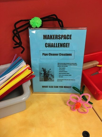 June's Makerspace Challenge was pipe cleaner creations, and it was a huge hit! As a matter of fact, the day that I changed the challenge to pipe cleaner creations, a coworker came up to me as…