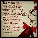 Dr. Seuss Life Advice...
