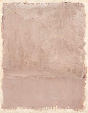 Mark Rothko, Untitled, 1969, Acrylic on paper