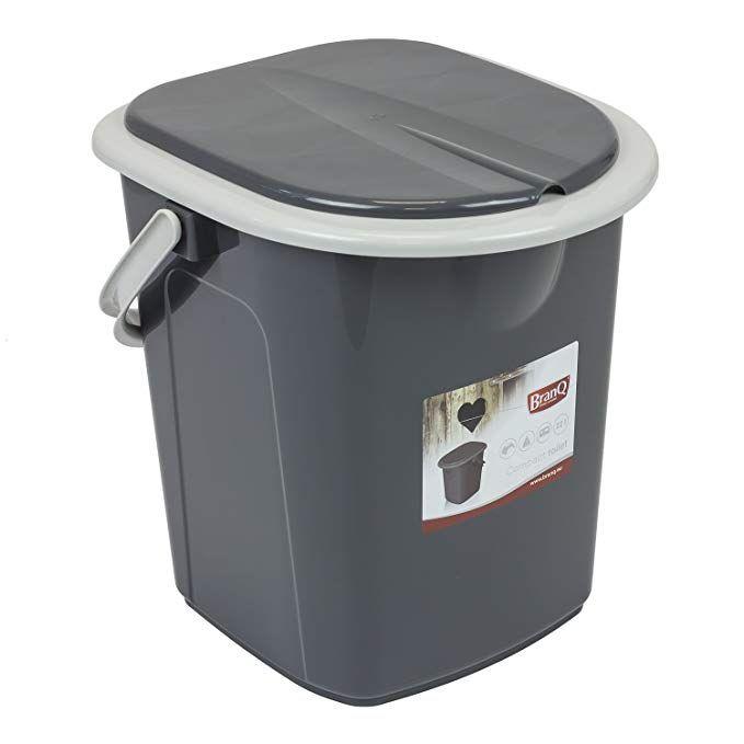 Branq Toilettes 15,5 litres de Camping Toilettes Seau WC ext/érieur Voyage