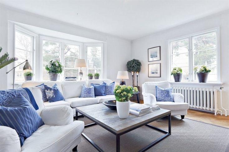 hampton homes interiors   Stockholm Vitt - Interior Design: White New England Charm II
