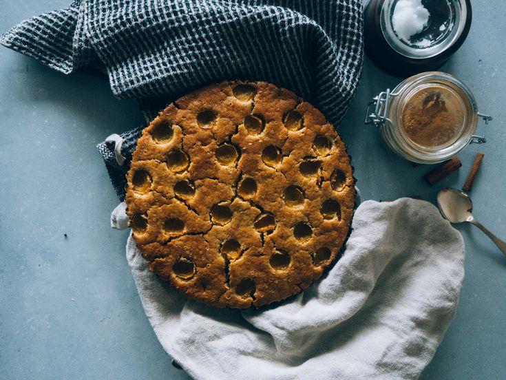 Glutenfri, vegansk plommonkaka — Dags Att Plocka