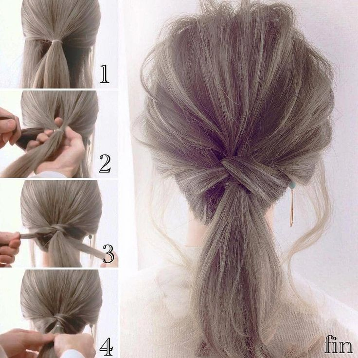 "HAIRFY Hair Tutorials on Instagram: ""Which one is your favorite?😍 •Follow us @hairfy for more🙏😍 - Credits: @calonshouji"" #Shorthairbun"