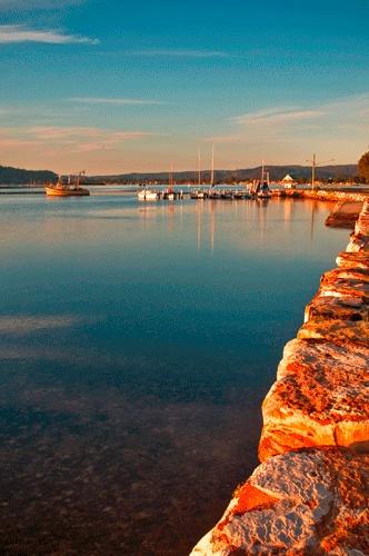 Veterans Wharf, SARATOGA, CENTRAL COAST, NSW, AUSTRALIA