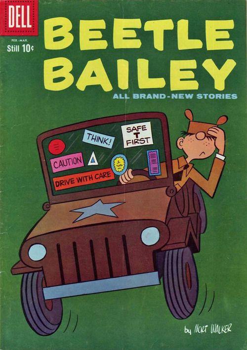 Beetle Bailey comic book (1960)