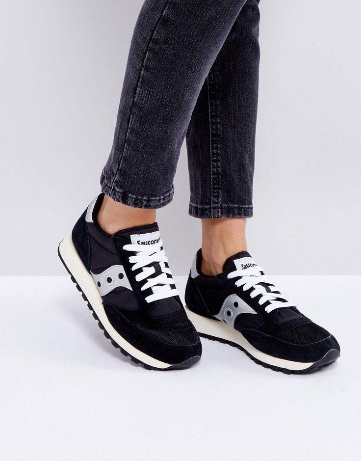 Saucony Jazz O Sneakers In Black - Black