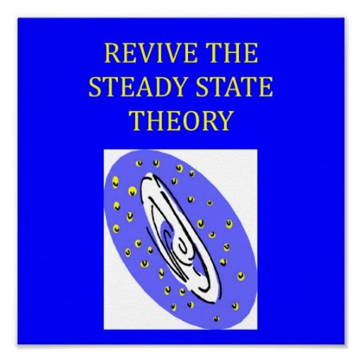 "Hello, It now appears some scientists are starting to question the big bang theory & replacing it with the ""steady state theory"" instead. Personally speaking I can more readily accept our Universe has always existed then being created by a big bang (from nothing) some time in the past. Regards Peter !"