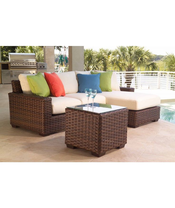 Lloyd Flanders Contempo Collection  Deep Seating