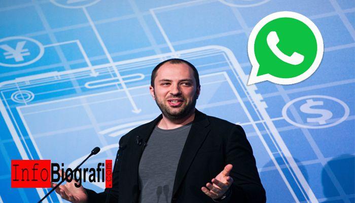 Biografi dan Profil Lengkap Jan Koum - CEO dan Pendiri WhatsApp Inc. - http://www.infobiografi.com/biografi-dan-profil-lengkap-jan-koum-ceo-dan-pendiri-whatsapp-inc/