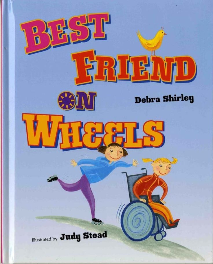 Where can I find kids' books that feature children with disabilities?