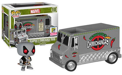 Funko have announced their first wave of San Diego Comic-Con Exclusives: X-Force Deadpool's Chimichanga Truck