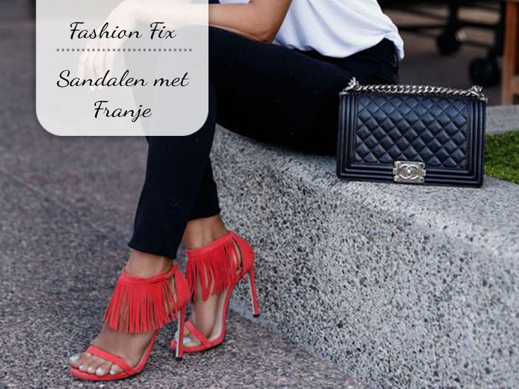 Fashion Fix: Sandalen met franje - My Simply Special