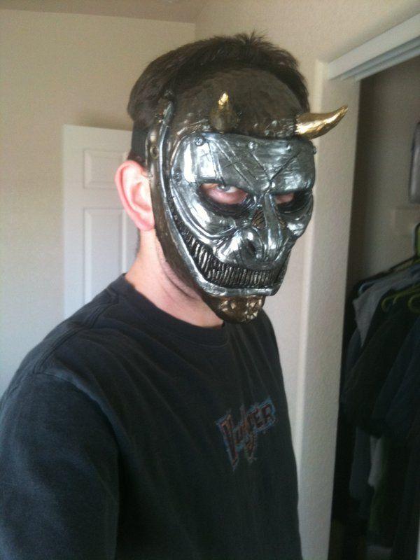 iron samurai ninja demon mask by UglyBabyEater | Creation