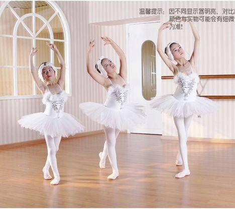 nieuwe pailletten pannenkoek zwanenmeer ballet tutu wit kostuum meisjes…