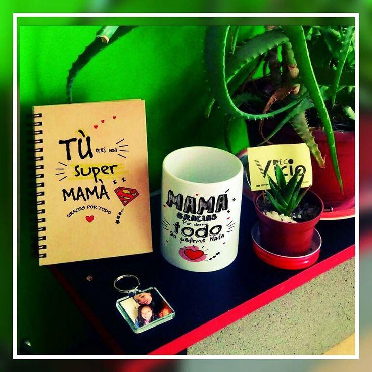 Se nos viene el dia la #Mama reserva antes que se agoten!! PACK Tazon  cuaderno  llavero personalizados $7000 mas diseños en nuestro face DECOVICIO