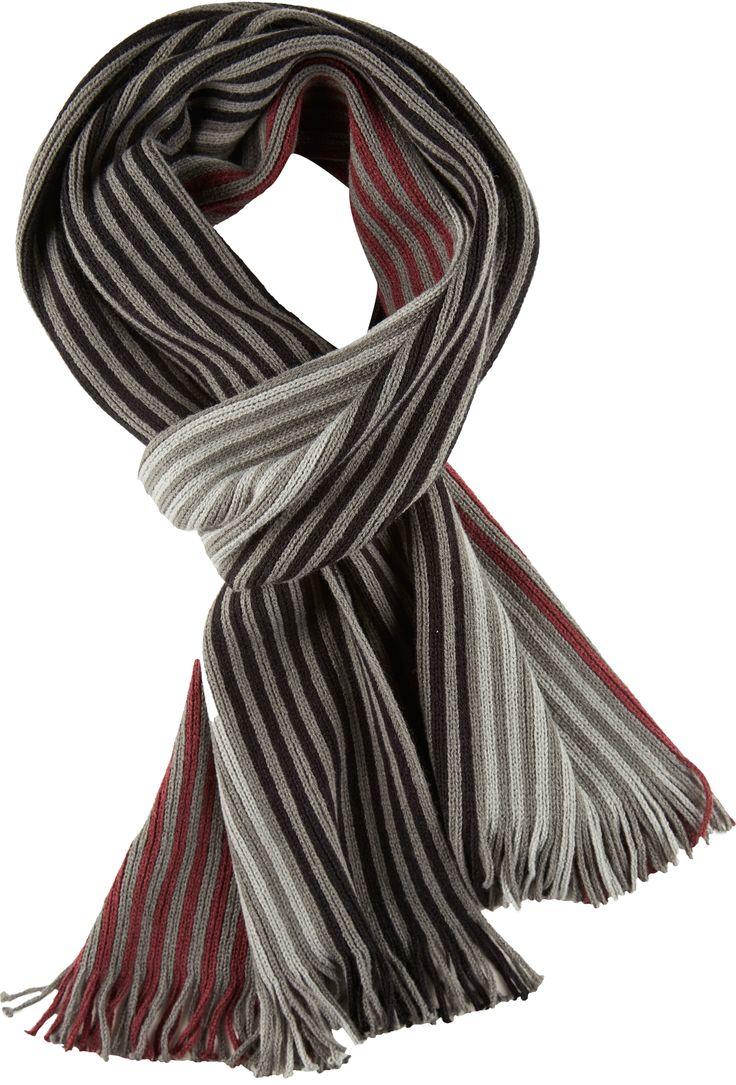 Raidallinen kaulahuivi pehmeää neulosta. #henrys #anttila #anttilalahjalista #miestenmuoti NetAnttila - HENRY'S Miesten raitahuivi | Talvivaatteet ja asusteet