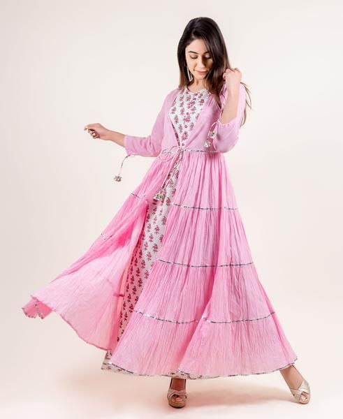 Being Cupid #valentinesday #Pink #indowestern #Dress