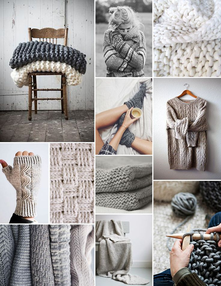 The word on the street (or at least, in our office) is that Camille's mom knits up the world's coziest and downrightdreamiest knitted cowl scarves. So while I still yearn for my very own homemade ...