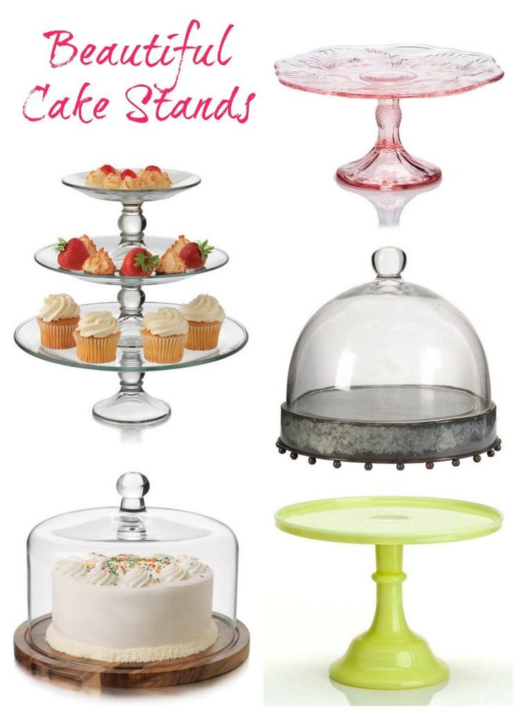 81 best cake stands images on pinterest cupcake stands for Beautiful cake stands