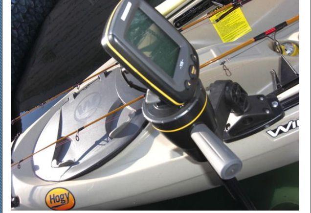 25 best kayak fish finder images on pinterest dog leash for Best kayak fish finder