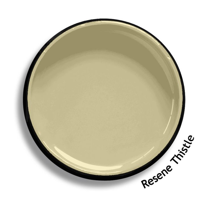 Resene Thistle is a yellow beige green, fascinatingly complex. From the Resene Heritage colours collection. Try a Resene testpot or view a physical sample at your Resene ColorShop or Reseller before making your final colour choice. www.resene.co.nz