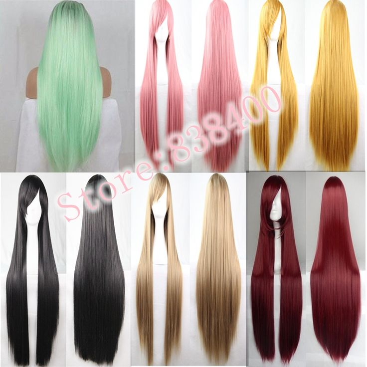 Synthetic Long Cosplay Wigs 1pc/lot Long Straight Hairstyles Multicolor Wig Heat Resistance Synthetic Wigs For Europe Women.Made by 100% Japan high temperature fiber,looks like real hair and more confortable,soft,breathable.It brings out a positive and happy mood everywhere around us and that to make some change in the hairstyle.A comfortable experience, a confident appearance.Ok, maybe  you can think about the cosplay wigs.