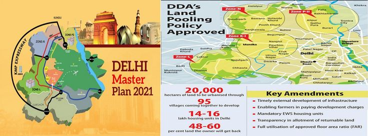 Find info about DDA Land Pooling Policy.
