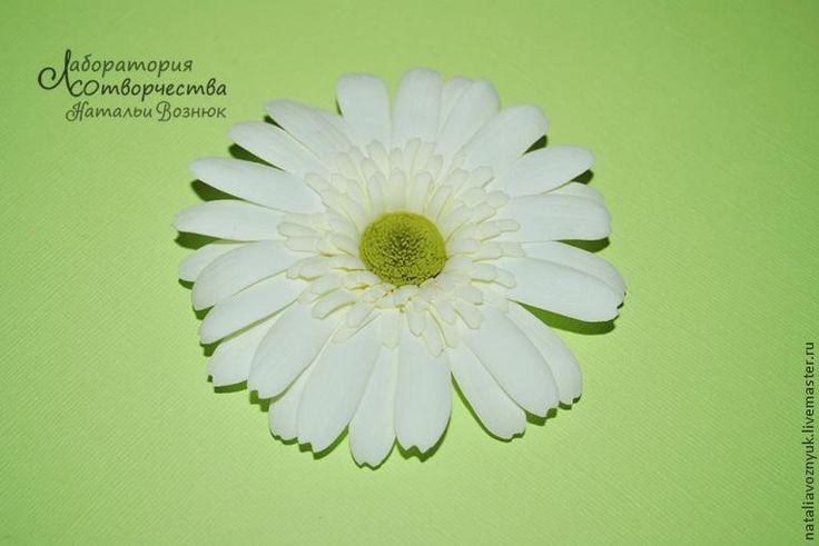 Создаем герберу из фоамирана - Ярмарка Мастеров - ручная работа, handmade