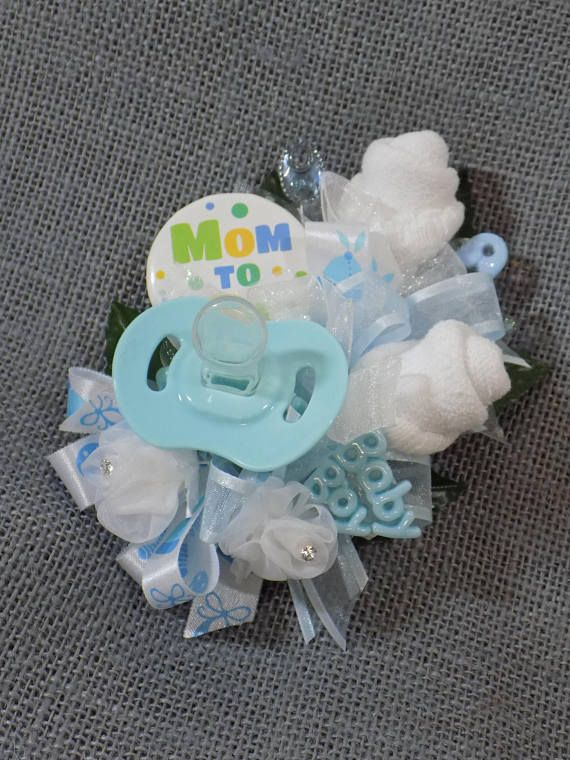 Pin On Baby Boy Shower Corsage  Pin On Baby Shower Corsage