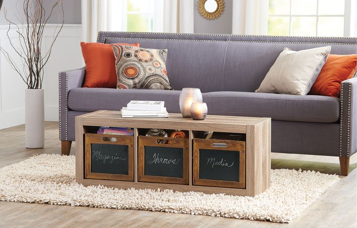 If you're finding that you're short on floor space, consider freeing up some room by using this Tidy Living three-shelf organizer. This is the perfect space-saving solution for all those odds and ends you have around the house or the office. Use it to stash extra towels or toilet tissue in your bathroom, or keep paper neatly organized in your office.