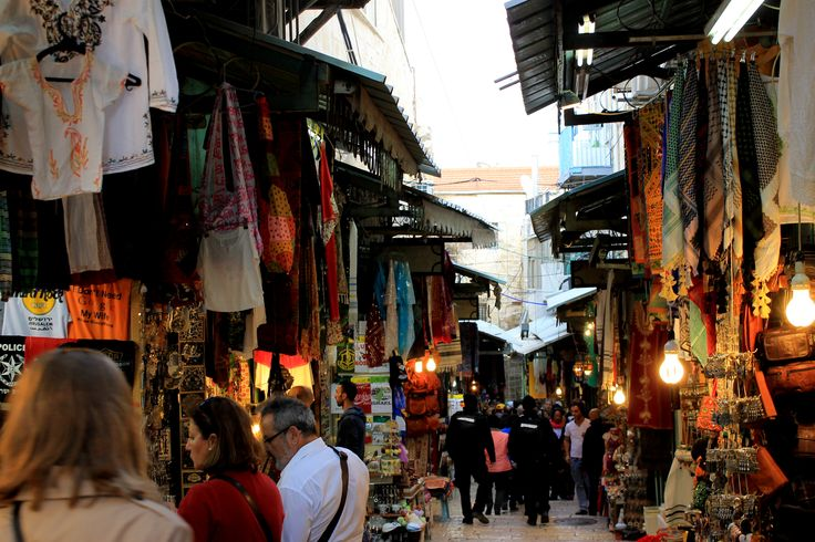 Walk through the Jewish, Christian, Armenian and Muslim Quarters and visit the mayor religious sites.